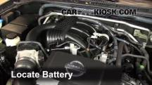 2011 Nissan Xterra S 4.0L V6 Battery
