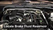 2011 Nissan Xterra S 4.0L V6 Brake Fluid