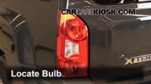 2011 Nissan Xterra S 4.0L V6 Luces