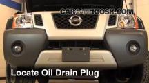 2011 Nissan Xterra S 4.0L V6 Aceite