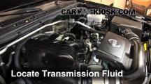 2011 Nissan Xterra S 4.0L V6 Líquido de transmisión