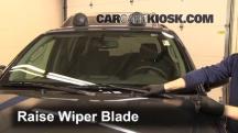 2011 Nissan Xterra S 4.0L V6 Escobillas de limpiaparabrisas delantero
