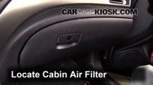 2011 Subaru Impreza 2.5i Premium 2.5L 4 Cyl. Wagon Filtro de aire (interior)