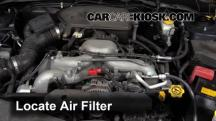 2008 Subaru Impreza 2.5i 2.5L 4 Cyl. Sedan Air Filter (Engine)