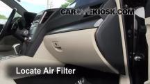 2011 Subaru Legacy 2.5i Premium 2.5L 4 Cyl. Filtro de aire (interior)
