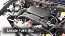 2011 Subaru Legacy 2.5i Premium 2.5L 4 Cyl. Fuse (Engine)