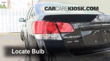 2011 Subaru Legacy 2.5i Premium 2.5L 4 Cyl. Lights