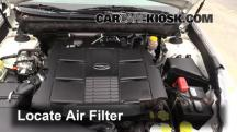 2011 Subaru Outback 3.6R Limited 3.6L 6 Cyl. Air Filter (Engine)