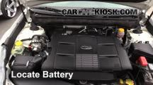 2011 Subaru Outback 3.6R Limited 3.6L 6 Cyl. Battery