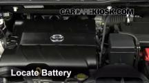 2011 Toyota Sienna XLE 3.5L V6 Battery