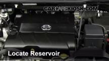 2011 Toyota Sienna XLE 3.5L V6 Líquido limpiaparabrisas