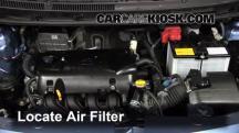 2011 Toyota Yaris 1.5L 4 Cyl. Sedan Filtro de aire (motor)