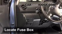 2011 Toyota Yaris 1.5L 4 Cyl. Sedan Fusible (interior)
