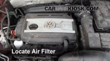2011 Volkswagen Tiguan SE 2.0L 4 Cyl. Turbo Filtro de aire (motor)