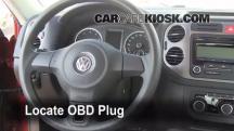 2011 Volkswagen Tiguan SE 2.0L 4 Cyl. Turbo Compruebe la luz del motor