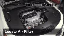 2012 Acura TL 3.5L V6 Filtro de aire (motor)