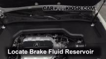 2012 Acura TL 3.5L V6 Brake Fluid