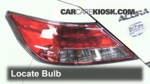 2012 Acura TL 3.5L V6 Luces