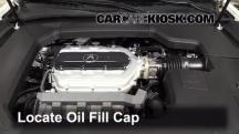 2012 Acura TL 3.5L V6 Oil