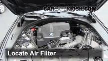 2012 BMW 528i xDrive 2.0L 4 Cyl. Turbo Air Filter (Engine)