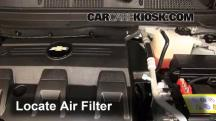 2012 Chevrolet Captiva Sport LTZ 3.0L V6 FlexFuel Air Filter (Engine)