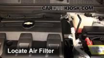 2012 Chevrolet Captiva Sport LTZ 3.0L V6 FlexFuel Filtro de aire (motor)