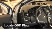 2012 Chevrolet Captiva Sport LTZ 3.0L V6 FlexFuel Compruebe la luz del motor