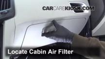 2012 Chevrolet Equinox LT 2.4L 4 Cyl. FlexFuel Filtro de aire (interior)