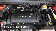 2012 Chevrolet Sonic LT 1.8L 4 Cyl. Sedan Air Filter (Engine)