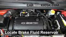 2012 Chevrolet Sonic LT 1.8L 4 Cyl. Sedan Brake Fluid