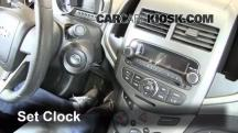2012 Chevrolet Sonic LT 1.8L 4 Cyl. Sedan Clock