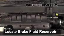 2012 Chevrolet Traverse LS 3.6L V6 Brake Fluid