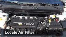 2010 Dodge Avenger SXT 2.4L 4 Cyl. Air Filter (Engine)