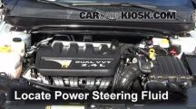 2012 Chrysler 200 LX 2.4L 4 Cyl. Sedan (4 Door) Power Steering Fluid