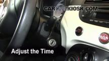 2012 Fiat 500 Pop 1.4L 4 Cyl. Clock