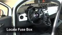 2012 Fiat 500 Pop 1.4L 4 Cyl. Fuse (Interior)