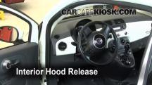 2012 Fiat 500 Pop 1.4L 4 Cyl. Capó