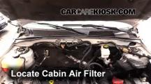 2012 Ford Escape XLT 2.5L 4 Cyl. Air Filter (Cabin)