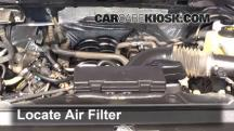 2012 Ford F-150 XLT 5.0L V8 FlexFuel Crew Cab Pickup Air Filter (Engine)