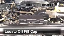 2012 Ford F-150 XLT 5.0L V8 FlexFuel Crew Cab Pickup Aceite