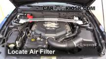 2012 Ford Mustang GT 5.0L V8 Coupe Air Filter (Engine)