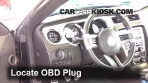 2012 Ford Mustang GT 5.0L V8 Coupe Compruebe la luz del motor