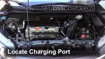 2012 Honda CR-V EX-L 2.4L 4 Cyl. Aire Acondicionado