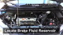 2012 Honda CR-V EX-L 2.4L 4 Cyl. Brake Fluid