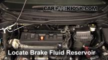 2012 Honda Civic EX-L 1.8L 4 Cyl. Sedan Brake Fluid