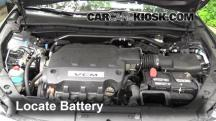 2012 Honda Crosstour EX-L 3.5L V6 Battery