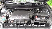 2012 Honda Crosstour EX-L 3.5L V6 Brake Fluid