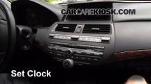 2012 Honda Crosstour EX-L 3.5L V6 Clock