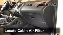 2012 Hyundai Tucson Limited 2.4L 4 Cyl. Filtro de aire (interior)