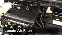 2012 Hyundai Tucson Limited 2.4L 4 Cyl. Air Filter (Engine)